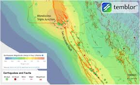 San Andreas Map San Andreas Fault Mendocino Triple Junction Map U2013 Temblor Net