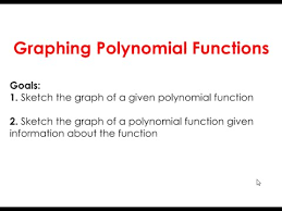 2 2 graphing polynomial functions