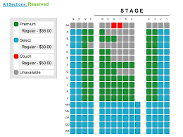 space seating z space san francisco tickets schedule seating charts goldstar