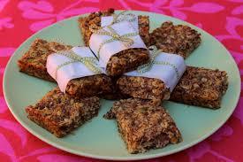 carrot cake granola bars