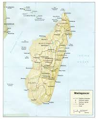 Madagascar On World Map by