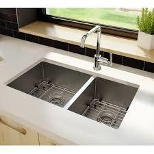 Stainless Steel Double Sink Stainless Steel Sink Double Bowls Round Corners Plumbing Artika