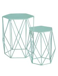 Marks And Spencer Kitchen Furniture Wire Nest Of Tables Mint M U0026s