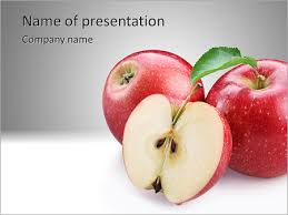 juicy apple powerpoint template u0026 backgrounds id 0000004237