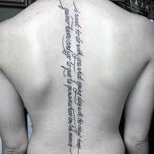 75 spine tattoos for masculine ink design ideas