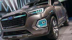 subaru viziv 2016 subaru maxes out with new viziv 7 suv concept roadshow