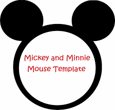 Minnie Mouse Baby Shower Invitations Templates - minnie mouse silhouette template free download clip art free