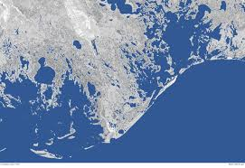 Sea Level Map Usa by Underwater Land Loss In Coastal Louisiana Since 1932 Noaa