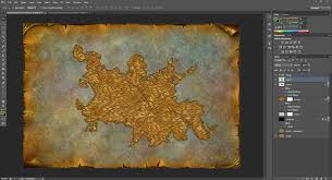 World Of Warcraft Map World Map Design Continents Interface Model Changing Network