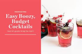 red cocktails cocktail kitchn