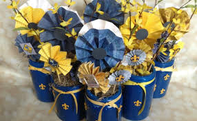 banquet centerpieces blue and gold centerpieces ideas homes designs 93096