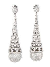 diamond chandelier earrings luxury diamond chandelier earrings 47 for your small home remodel