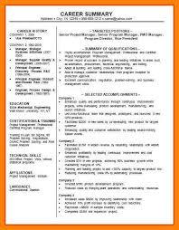 jobs resume nyc 9 job summary example writing a memo