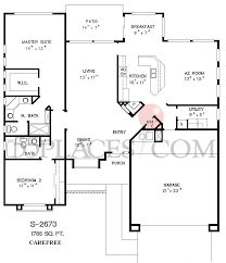 carefree homes floor plans s2673 carefree floorplan 1788 sq ft sun city west 55places com