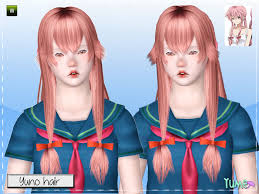 hair color to download for sims 3 zauma s yume yuno hair