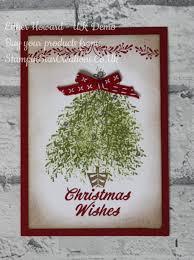 vintage christmas tree vintage christmas tree card with merry mistletoe