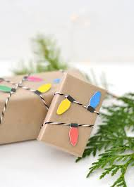 diy christmas light wrapping paper u2014 boxwood avenue