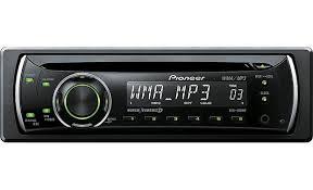 pioneer deh 1100mp cd receiver at crutchfield com