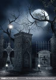 Halloween Backdrop Fab Vinyl Halloween Backdrops And Horror Theme Photography Backgrounds