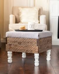 Ottoman Diy This Beautiful Diy Storage Ottoman Will Make You Want To Build One
