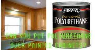 how to get polyurethane cabinets can you put polyurethane painted cabinets thewoodweb
