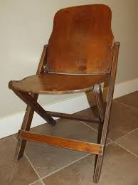 Antique Wood Chair Sustainable Slow Stylish A Vintage Folding Plywood Chair