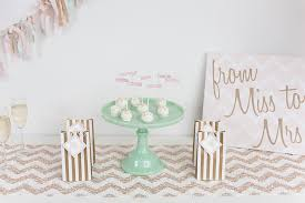 mint to be bridal shower pink mint and gold bridal shower bridal shower ideas themes