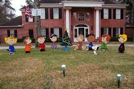 peanuts characters christmas ingenious peanuts characters christmas yard decorations sweetlooking