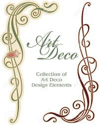 art deco design art deco design element corner royalty free cliparts vectors