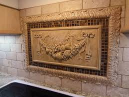 kitchen mural backsplash 16 best relief tile murals for your kitchen backsplash images on