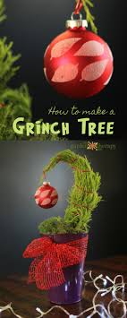 a small tree with a big message how to make a grinch tree