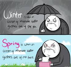 Memes About Winter - hate winter