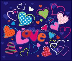 cute love doodles wallpaper wall mural wallsauce new zealand cute love doodles wall mural photo wallpaper