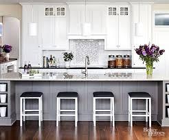 gray and white kitchen cabinets ideas white kitchen design ideas better homes gardens