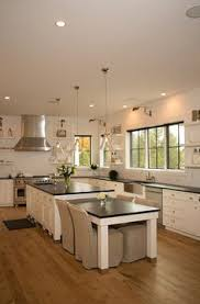 white u0026 marble kitchen with grey island kitchen pinterest