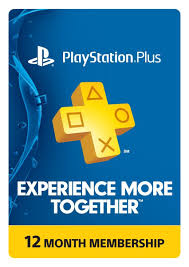 amazon black friday ps3 1 year playstation plus membership digital delivery slickdeals net