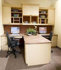 Two Person Home Office Desk 2 Desk Office Layout Design Decoration