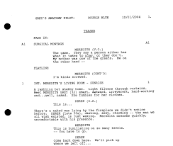 tv commercial script template 转载 the screenwriter s simple guide to formatting television