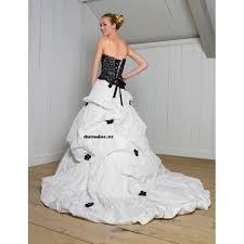 robe de mari e noir et blanc robe de mariée