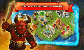 game castle clash mod apk clash of islands v1 03 apk mod android