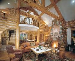 log homes interiors cabin decor howstuffworks