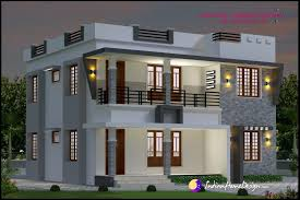 modern house front view double floor u2013 modern house