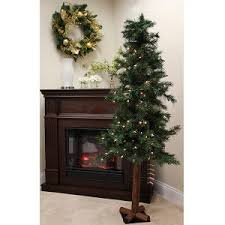 vco 36 pre lit mixed pine and red berries artificial christmas