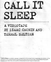 dialectical delinquents call it sleep 1982