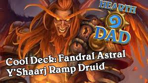 cool deck fandral astral y u0027shaarj ramp youtube