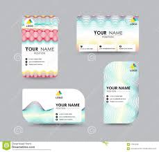 abstract business card template with sample name position city