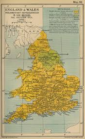 Map Of Wales England by Map Of England And Wales Before Reform Bill 1832
