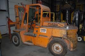 clark model cy140 14 000 lb forklift truck serial number y1015