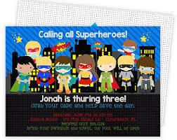 superhero invites etsy