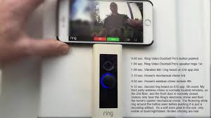 ring video doorbell pro ring timing lag latency and chime
